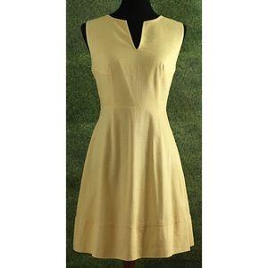 Vineyard Vines Textured Cotton Pleated Dress